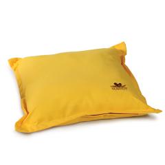 Μαξιλάρι διακοσμητικό τετράγωνο μονόχρωμο κίτρινο Gumnut