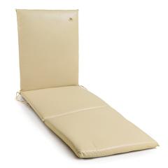 Μαξιλάρι ξαπλώστρας πισίνας δερματίνη μονόχρωμο εκρου Gumnut Ecru