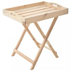 Δίσκος ξύλινος σε βάση 70x50εκ