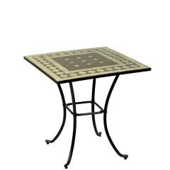 Τραπέζι Mosaic 70x70cm μεταλλικό