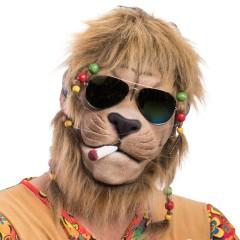 Μάσκα Λάτεξ Λιοντάρι Hippie