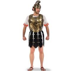 Φούστα Ρωμαίου μαύρη με χρυσά τρούκς