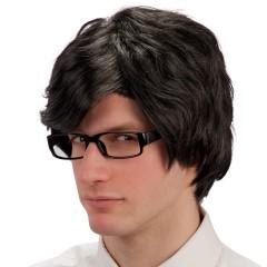 Περούκα Μαύρη Αντρική