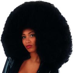 Περούκα Super Αφάνας Μαύρη 60cm