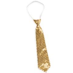 Γραβάτα Χρυσή με Πούλιες