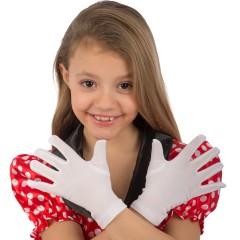 Γάντια Παιδικά Λευκά 17εκ