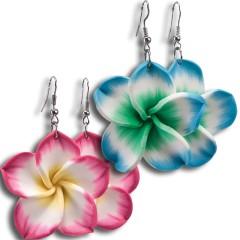 Σκουλαρίκια Χαβανέζας σε δύο χρώματα