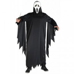 Φάντασμα scream στολή για ενήλικες