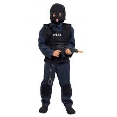 Swat στολή για αγόρια αστυνομικού ειδικών αποστολών