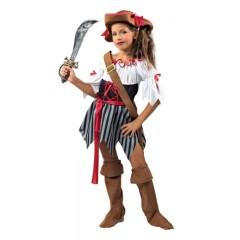 Πειρατίνα αποκριάτικη στολή για κορίτσια