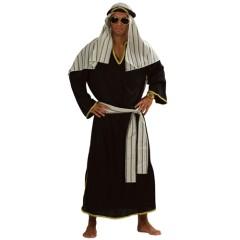 Άραβας μαύρη στολή ενηλίκων