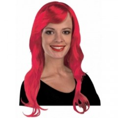 Περούκα μακριά Κόκκινη 70cm