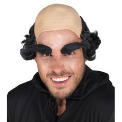 Περούκα Δρακουμέλ με φαλάκρα και φρύδια