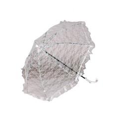 Ομπρέλα εποχής λευκή 72cm