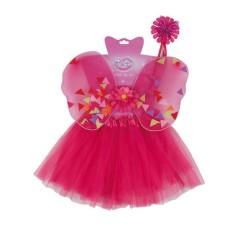 Σετ μεταμφίεσης πριγκίπισσας πεταλούδας παιδικό