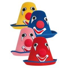 Καπέλο Κλόουν σε τέσσερα χρώματα