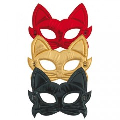 Μάσκες ματιών γάτας σε τρία χρώματα