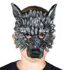 Μάσκα λάτεξ τέρατος λύκος