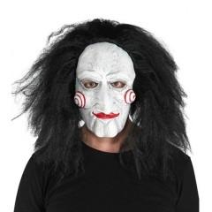 Μάσκα λάτεξ Saw jig με μαλλιά