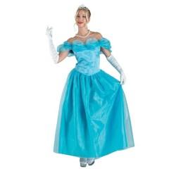 Σταχτοπούτα  Πριγκίπισσα γυναικεία στολή ενηλίκων