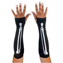 Γάντια σκελετού μακριά κοφτά