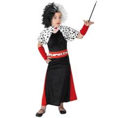 Βαρώνη ντε Βιλ αποκριάτικη στολή για κορίτσια
