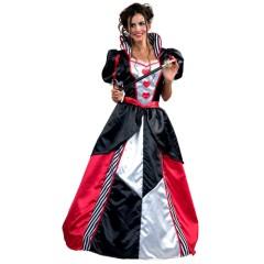 Βασίλισσα της καρδιάς αποκριάτικη στολή ενηλίκων