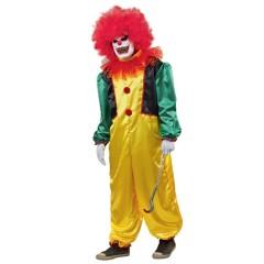 Τρομαχτικός Κλόουν Μπομπ στολή για ενήλικες