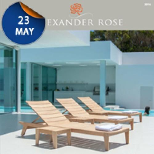 Η 4 Εποχές Αντιπροσωπεύουν Τον Οίκο Alexander Rose Για Την Ελλάδα Και Την Κύπρο